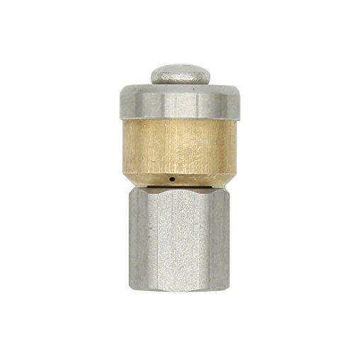 Rohrreinigungsdüse rotierende 1/8 1/4 3/8 zoll 250 bar - rohrreinigungsdüse rotierend kanalreiniger düse für Hochdruckreiniger Rohrreiniger Rohrreinigung (1/8 zoll)