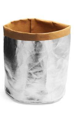 KINGDUO Jardinage Lavable Sac De Papier Kraft Plante Pot De Fleur Multifonction Récipient De Stockage À La Maison-S
