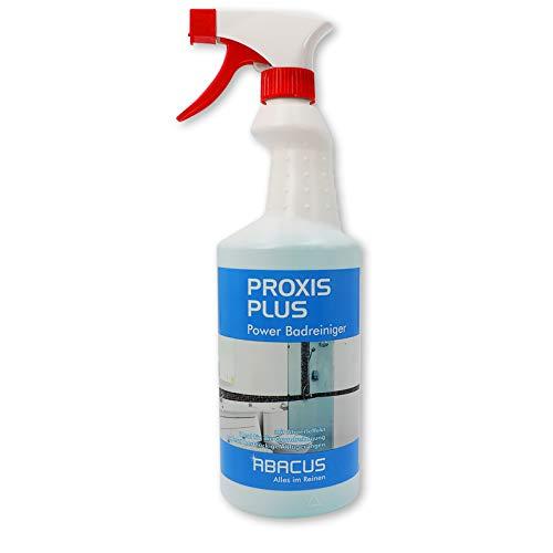 PROXIS PLUS 750 ml (4335) - Hochaktiver Sanitärreiniger gebrauchsfertig Urinsteinentferner Kalkentferner Rostentferner Grundreiniger Badreiniger WC-Reiniger Urinalreiniger Fliesenreiniger - ABACUS