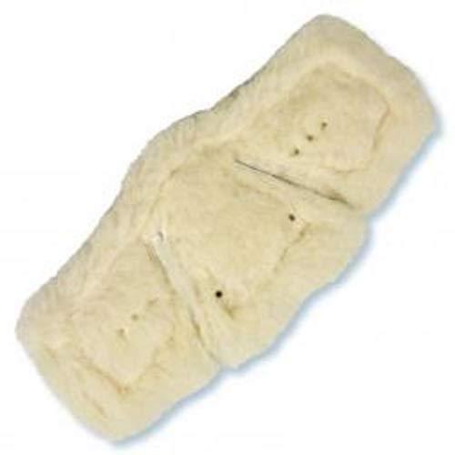 Stübben Sattelgurt Equi-Soft Polster Farbe Pferdezubehör Lammfell anthrazit, Größe 50-150