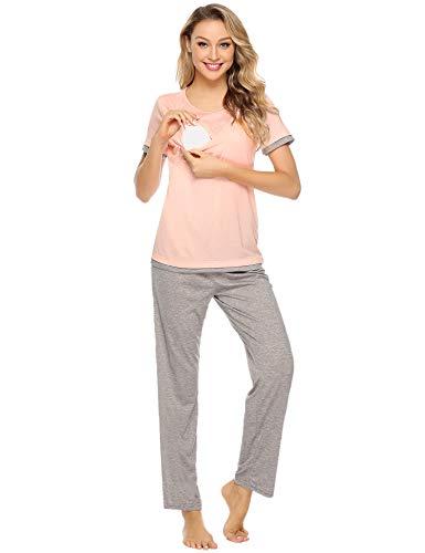 Aibrou Maternity Pajama Set