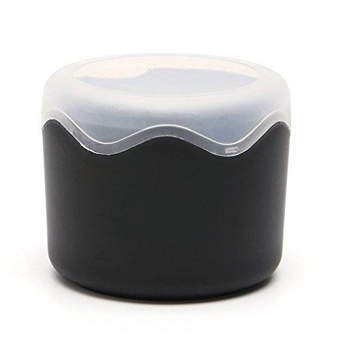 VIccoo Candy Color Wristwatch Storage Case Caja de plástico para Caja de Reloj Individual con Esponja - Negro