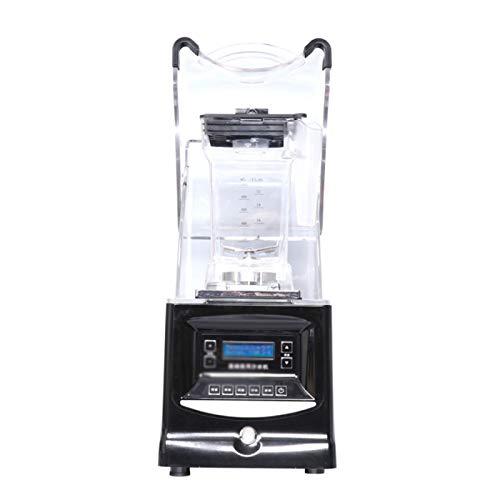 QYT-Batidora Individual para Batidos Y Smoothies, Licuadora Smoothies de Alta Velocidad con Cuchillas Y Vaso de Plástico de 1500 Ml Sin BPA, Batidora De 1800 W, 38.000 RPM
