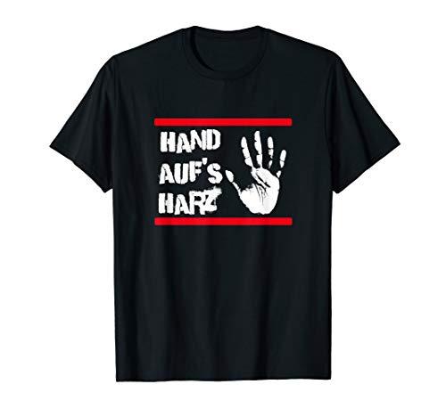Hand auf's Harz - Lustiges Handball Shirt Männer und Frauen