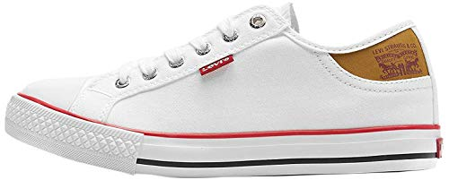 Levis Sneaker Damen Stan Buck Lady 222984-733-51 Weiß Regular White, Schuhgröße:39