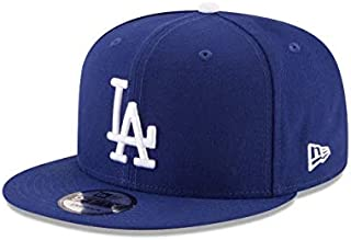 New Era Baseball Hat 9FIFTY Youth Snapback Adjustable Cap One Size (Los Angeles Dodgers)