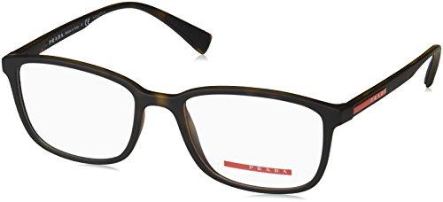 Prada Linea Rossa Herren 0PS 04IV Brillengestell, braun (Havana Rubber), 55 EU