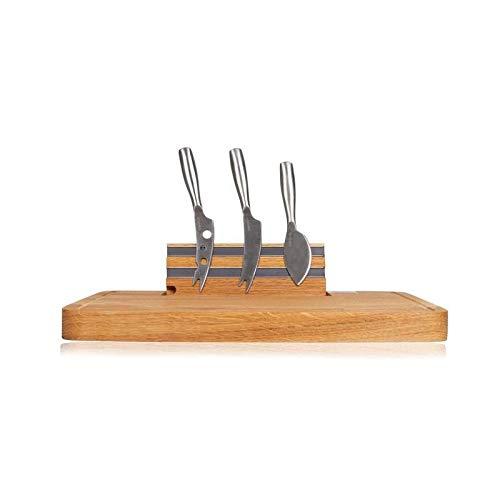 BOSKA(ボスカ) チーズナイフ ステンレス/ウッド 34.2x25x3.7cm チーズナイフ&マグネットボードセット 320083