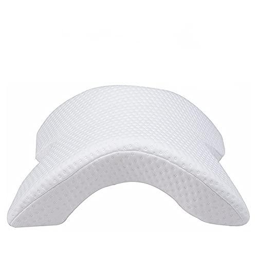 Arco en Forma de U Curved Memory Memory Cuello de Dormir Almohada Cervical con diseño Hueco Brazo Rest ALMOW DE Manera para EL Lado DE Pare