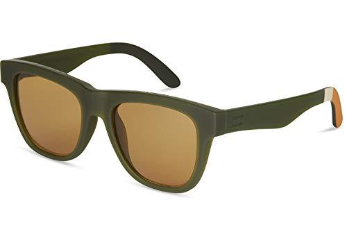 TOMS Square Sunglasses, MATTE RIFLE GREEN, 54-19-148
