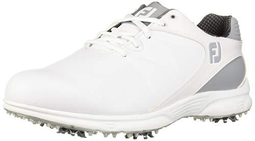 FootJoy Men's ARC XT Previous Season Style Golf Shoes, White, 9.5 W