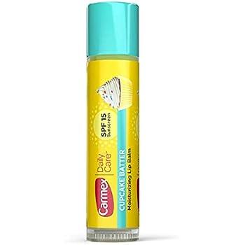 Carmex Daily Care Moisturizing Lip Balm (SPF15) - Cupcake Batter 0.15 oz (Pack of 1)