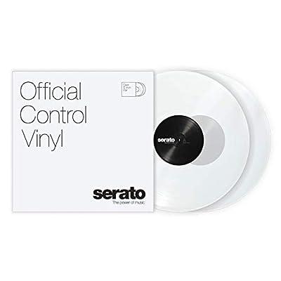 "12"" Serato Control Vinyl - Standard Colors - Clear (PAIR)"