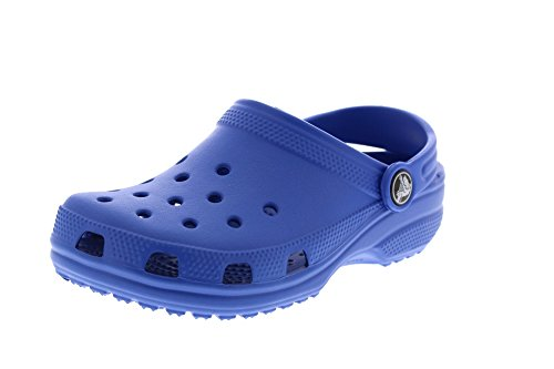 Crocs Baby Littles Clog, Sea Blue, 2-3 M US Infant