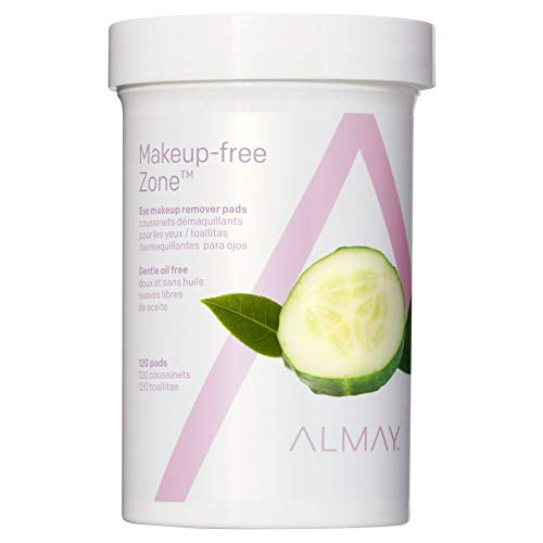 Almay Oil Free Gentle Eye Makeup Remover Pads 120 Ct by Almay