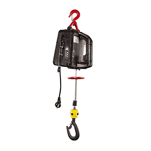 JCX Elevador Electrico del Poder 1500W, 100/200/300/500 Kg Polipastos Electricos Portátil, Mini...