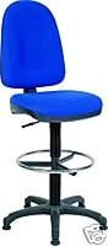 HIGH Back Blue DRAUGHTMAN Stuhl
