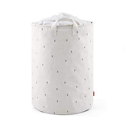 Rayen colda Colada   Gama Premium   Impermeable y Resistente   Capacidad de 70 litros   Cesto con Asas   Dimensiones 55 x 40 cm, Poliéster, Blanco