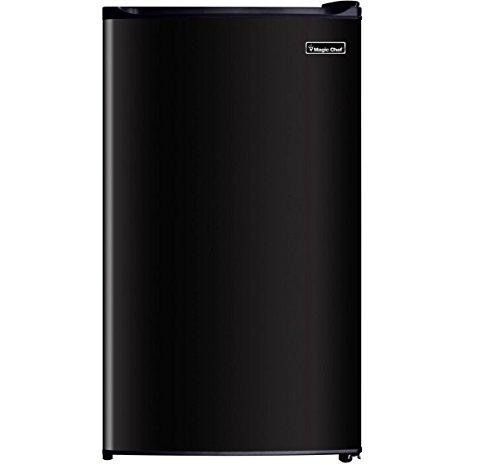 Magic Chef MCBR350B2-00 Single Door Refrigerator w/ Freezer, 3.5 cu.ft., Black