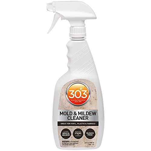 303 Mold and Mildew Cleaner - Quick Cleaning - Eliminates Stains - Removes Stains with Ease - Safe for All Water-Safe Surfaces - 32 fl oz. (30595CSR)