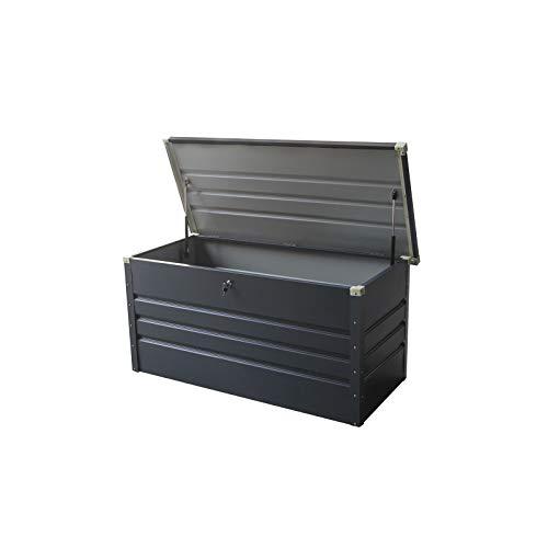gardiun Arcana II–Auflagenbox metallisch, 132x 61x 62cm