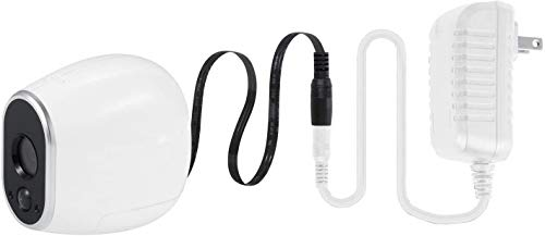 Arlo HD Wired Adapter, Power Your Arlo HD Outdoor Camera Continuously - by Wasserstein (White)