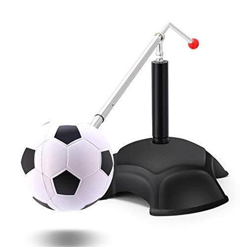 tackjoke Fußballtraining Sachen Kinder Zubehör Ball Fußball Kick Trainer Trainingszubehör Fußball/Volleyball/Rugby Kick Throw Trainer Hilfskontrolle für Fußball Training