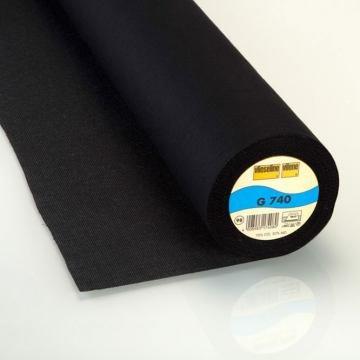 StoffHandwerker Vlieseline G 740-90 cm breit - schwarz