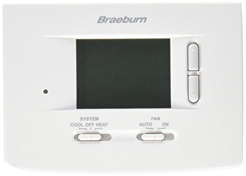 BRAEBURN 1020 Thermostat, Non-Programmable, 1H/1C