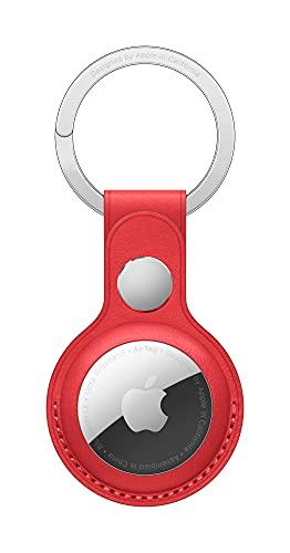 Apple AirTag Schlüsselanhänger aus Leder - (Product) RED