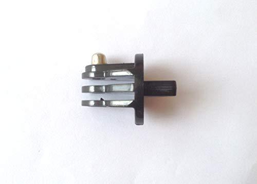 2x FCS kompatible Stecker zur Befestigung an der FCS Zentralfinnenbuchse GoPro Hero Surfboard FCS Center Konvertierung Stecker Finnenbuchse Connector GoPro Surfing Adapter