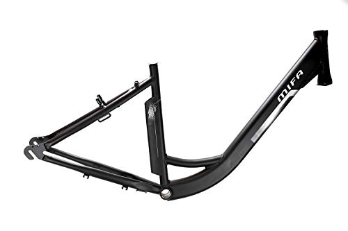28 Zoll Alu Pedelec Fahrrad Damen City Rahmen E-Bike MIFA Rh 46cm schwarz-matt B-Ware