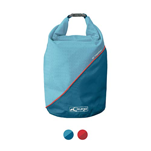 Kurgo Dog Food Travel Bag, Coastal Blue