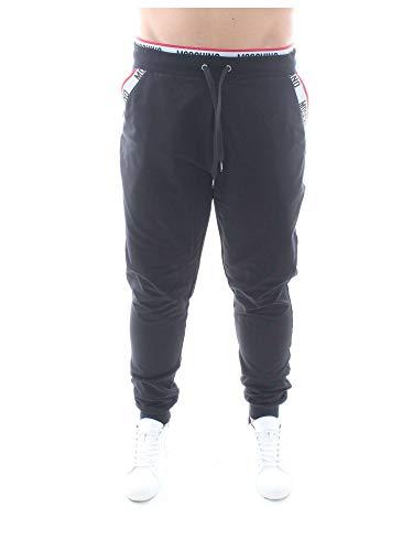 Moschino Herren Trainingsanzug Schwarz Schwarz Gr. XL, Schwarz