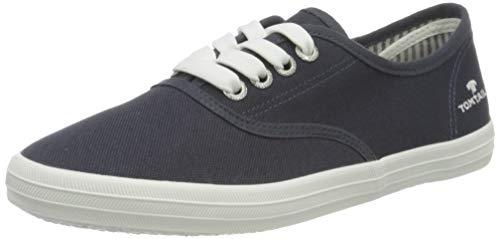 TOM TAILOR Damen 3292401 Sneaker, Navy, 39 EU