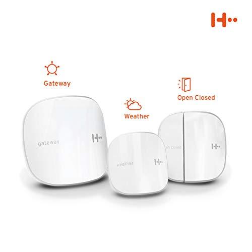 H2 Smart Home Starter Kit - Das einfache Komplettpaket für Ihr intelligentes Zuhause, Weiß