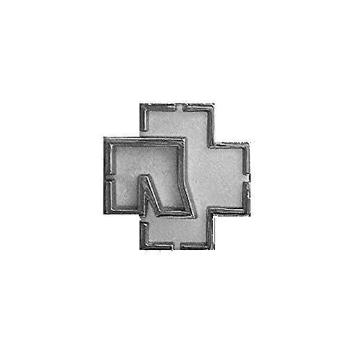 Rammstein Magnet Logo metallic, Offizielles Band Merchandise Fan