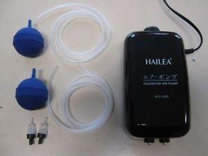 Hailea Durchlüfter-Set ACO 5505 (mittel) für Aquarium und Teich