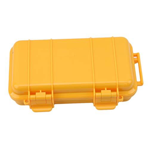 SEVENHOPE Draussen Kunststoff Wasserdichte Luftdichten Survival Fall Container Lager Box Tragen (L)