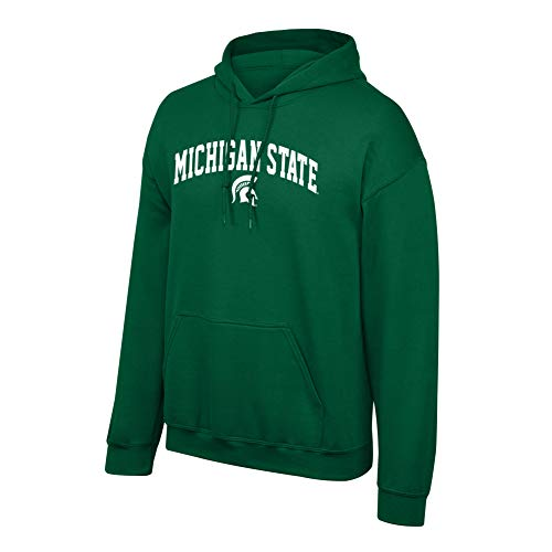 Elite Fan Shop NCAA Men's Michigan State Spartans Hoodie Sweatshirt covid 19 (Michigan State Spartans Green coronavirus)