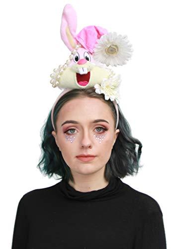 Pastel Roze Bunny Pop Onderdelen Festival Goth Kroon Hoofdband Headdress