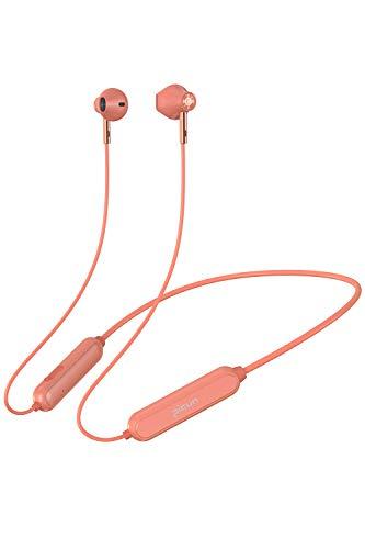 PICUN Kabellose Ohrhörer Bluetooth Kopfhörer mit Mikrofon Neckband In Ear Wireless 28 Stunden Wiedergabezeit Wasserdicht Headsets - Orange