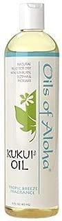 Kukui Nut Oil (Scented) w/Tropic Breeze Fragrance by Oils of Aloha - 16oz.