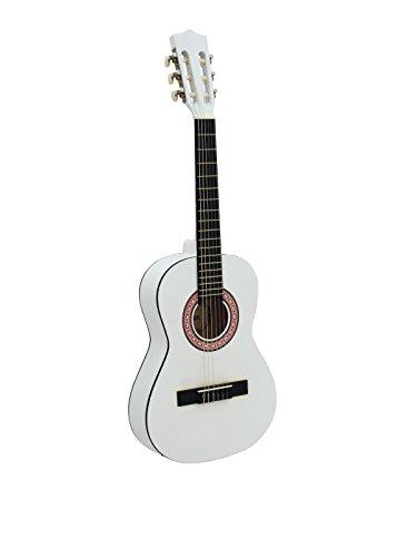 DIMAVERY AC-300 klassieke gitaar 1/2, wit