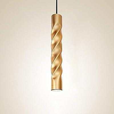Sunny Lingt Nordic Pendant Lights Ceiling Spot Light, 7W Dia 6CM L30CM Tube LED Ceiling Lights, 3000K 4000K 6000K Hanging lamp Downlight Light fixtures, for Kitchen Island Counter Shop Decor