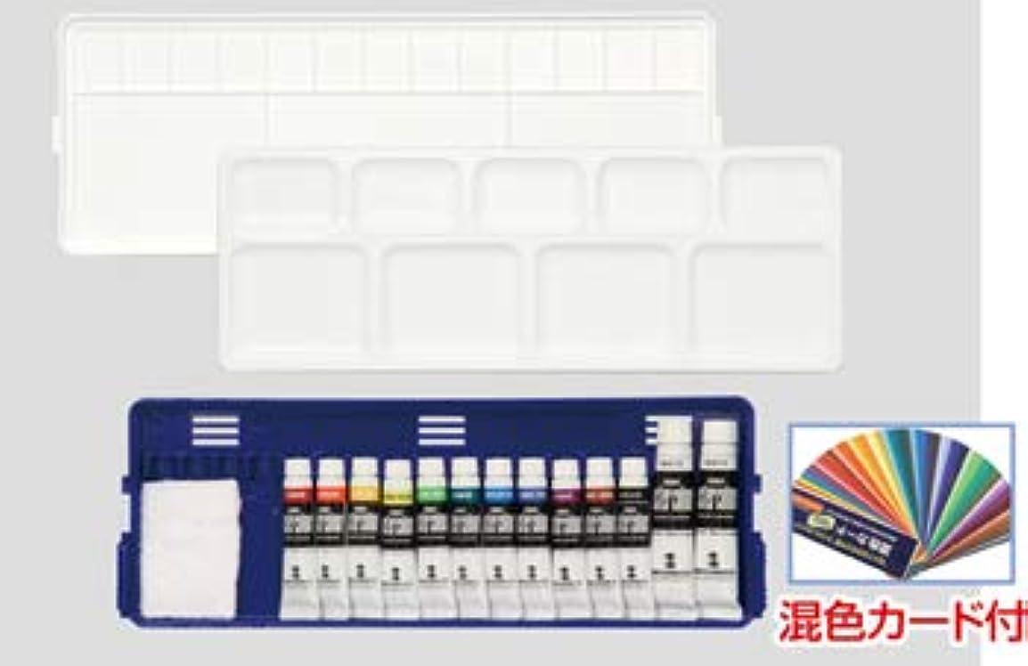 リダクターライセンス薄めるターナー ポスターカラー クリエイトセット 12色13本入 [107730]