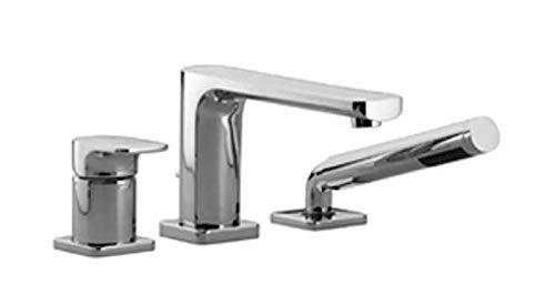 Dornbracht Cult 27412960 27412960-00 - Grifo mezclador monomando para bañera (3 orificios, cromado)
