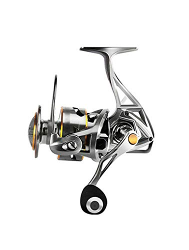 Metal Fishing Reel, Salt Water and Fresh Water can be Used, The Best Fishing Reel, 17+1BB Super Smooth Bearing, 4.9:1 high Speed Gear Ratio (Size : 3000)