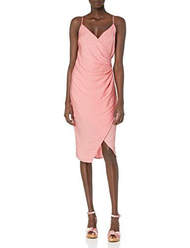 BCBGeneration Damen Side Pleated CAMI Dress Cocktailkleid, Wassermelone, 42