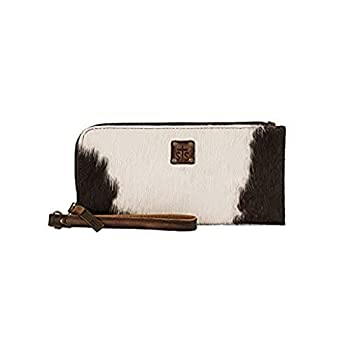 STS Ranchwear Western Leather Classic Cowhide Clutch